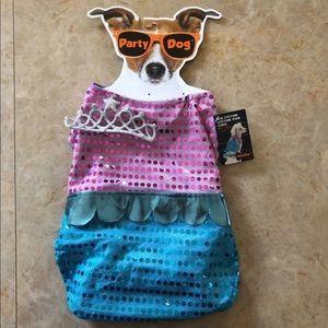 Dog mermaid costume